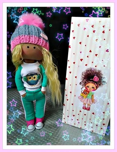 Кукла интерьерная 4
