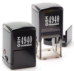 Печать на автоматической оснастке GRM4940 HUMMER, 41х41 mm (Артикул 4)