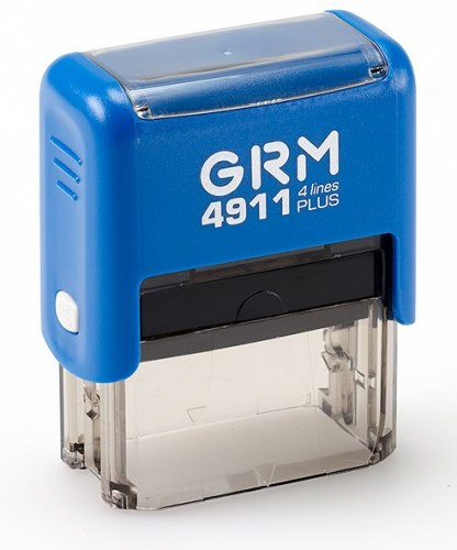 Штамп автоматический GRM 4911, 41х16 мм (Артикул 16)
