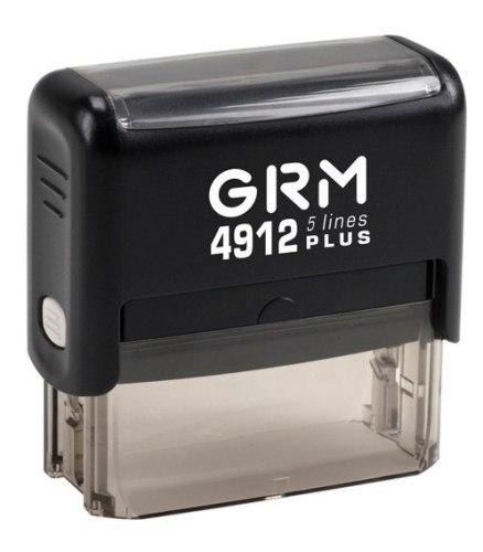 Штамп автоматический GRM 4912, 47х18 мм (Артикул 17)