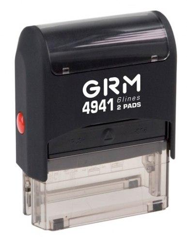 Штамп автоматический GRM 4941, 41х24 мм (Артикул 18)