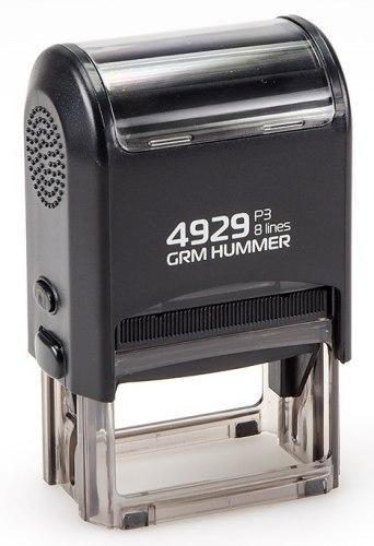 Штамп автоматический GRM HUMMER 4929, 50х30 мм (Артикул 19)