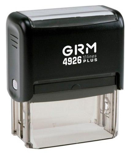 Штамп автоматический GRM 4926, 77х39 мм (Артикул 22)