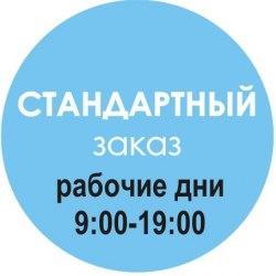 СТАНДАРТНЫЙ заказ, в течение 24 ч после оплаты (Пн-Пн 09:00-19:00) (Артикул 101)