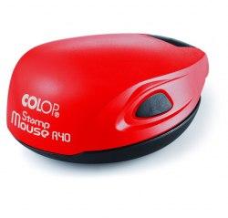 Печать полуавтомат с подушкой COLOP Mouse R40, D=40 mm (Артикул 39)