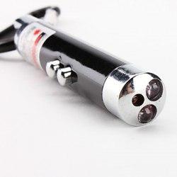 Брелок 3 в 1: фонарик + лазер + ультрафиолет (Артикул 43)