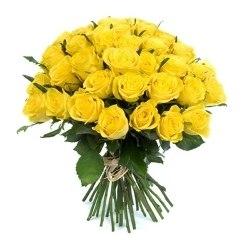 """Букет роз """"Желтое настроение"""" 31 роза"""