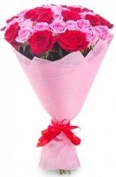"""Букет роз """"Розовеет"""" 31 роза"""