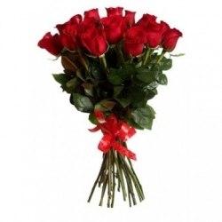 """Букет роз """"Пламя"""" 25 роз"""