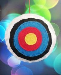 Брелок из фетра Archery Club