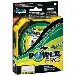 Шнур Power Pro 275м Hi-Vis Yellow 0.28 желтая (2)