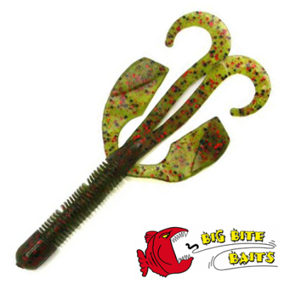 "Big Bite Baits 4"" Kriet Kreature #12 Watermelon Red Mag наличие"