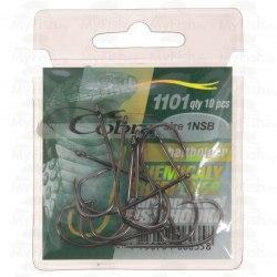 Крючки Cobra BAITHOLDER, 1101NSB, 10 шт №08