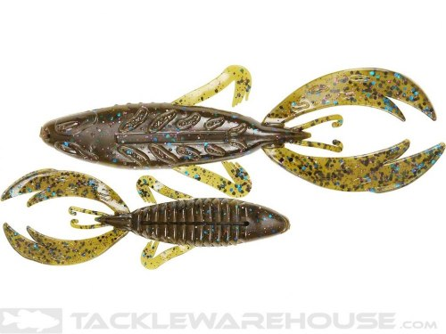 "Big Bite Baits 4""ROJAS FIGHTING FROG Tilapia -цвет 04"