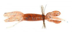 "Мягкие приманки Jackall Pine Shrimp 2"" Cinnamon Blue Flake"