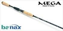 Спиннинговое удилище BANAX Mega MGS 80MLF2, 244см, 4-18 гр.