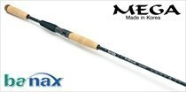 Спиннинговое удилище BANAX Mega MGS 80MHF2, 244см, 7-35 гр.