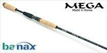 Спиннинговое удилище BANAX Mega MGS 80MF2, 244см, 5-25 гр.