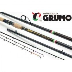 Фидер BRISCOLA GRUMO, 396см, 3 ч, +Tip: 112 гр. GRM394MH