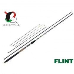 Фидерное удилище Briscola Flint, Light+, 244 см, 3ч., Tip: 14гр., 28гр., 42 гр. FLT243L
