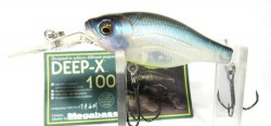 Воблер MEGABASS DEEP-X 100SP-C (Kameyama Ghost Pearl) MB-DX100SPC-TKGP