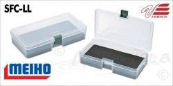 Коробка для приманок MEIHO 161*91*31 с пористым вкладышем EVA SFC-M