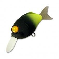 Воблер-кранк DAMIKI модель DC, 50мм, 5,5 гр., резин. хвост, плавающий 009-1 D-DC-50F-009-1
