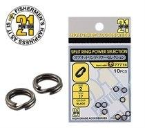 Заводное кольцо PONTOОN21 Power Selection, цвет черный, #2, 10 шт. PA-77714-02