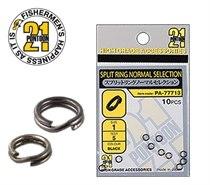 Заводное кольцо PONTOОN21 Normal Selection, цвет черный, #1, 10 шт. PA-77713-01