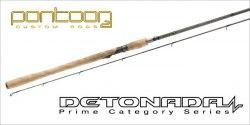 Спиннинговое удилище Pontoon21 DETONADA, 274 см., 4.0-17.0 гр., 5-12 Lb. Ex. Fast; Fuji K-SIC DTS902MLXF