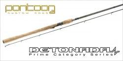 Спиннинговое удилище Pontoon21 DETONADA, 213 см., 3.0-14.0 гр., 5-12 Lb. Ex. Fast; Fuji K-SIC DTS702MLXF