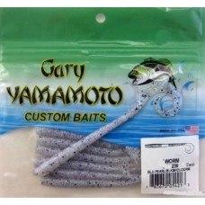 """Червь Gary Yamamoto Worms4"""": 10 см, 10 шт. в уп., цв.239 GY-4-10-239"""
