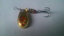 Блесна вращающаяся Fishmaster Classic №0 цвет 07