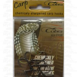 Крючки Cobra CARP CHINU, 807NSB, 10 шт №004