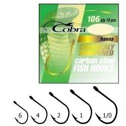 Крючки Cobra , 106NSB №04