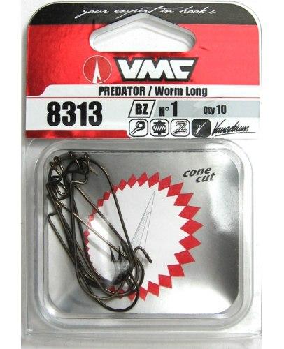 Крючки оффсетные VMC 8313 BZ №2/0