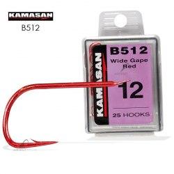 Крючки одинарные Kamasan B512 №22