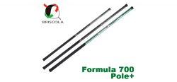 Удилище для глухой оснастки Briscola Formula 700 pole+, 4.75-5.95-7.10 м, 20 гр. FLPP700