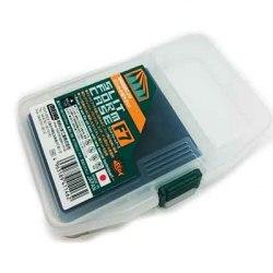 Коробка для приманок MEIHO 146*103*23 прозрачная с пористым вкладышем EVA SFC-7