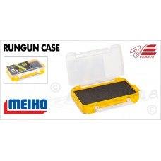 Коробка для приманок желтая 175*105*38 с пористым вкладышем RUN-GUN-CASE-W-2
