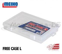 Коробка для приманок MEIHO 255*190*40мм, прозр. Z (#1200) FREE-CASE-L