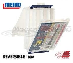 Коробка 2-хсторонняя MEIHO REVERSIBLE 180V 205*145*50, 8 отсек REVERSIBLE_180V