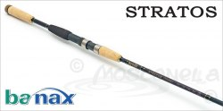 Спиннинговое удилище BANAX Stratos STRS80MF2, 244см, 7-25 гр. STRS80MF2