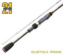 """Спиннинговое удилище Pontoon21 Grace Sonda 7'2""""/2,18 ft/м, 1,7-10,5 гр., 4-8 Lb., Fast, Solid tip GSS722L"""