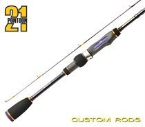 """Спиннинговое удилище Pontoon21 Grace Sonda 7'1""""/2,16 ft/м, 1,0-7,0 гр., 3-6 Lb., Fast, Solid tip GSS712UL"""