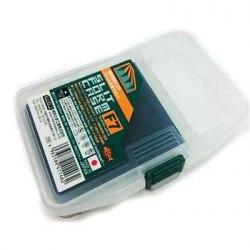Коробка для приманок MEIHO 146*103*23 прозрачная с пористым вкладышем SFC-F9