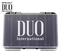 Коробка DUO REVERSIBLE D86, 140*104*32 мм, цвет-белый, верх-прозрачный DUO-REVERS-D86