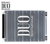 Коробка DUO REVERSIBLE 140, 205*145*40 мм, цвет-белый, верх-прозрачный DUO-REVERS-140