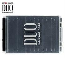 Коробка DUO REVERSIBLE 120, 200*126*36 мм, цвет-белый, верх-прозрачный DUO-REVERS-120