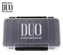 Коробка DUO REVERSIBLE 100, 193*100*30 мм, цвет-белый, верх-прозрачный DUO-REVERS-100